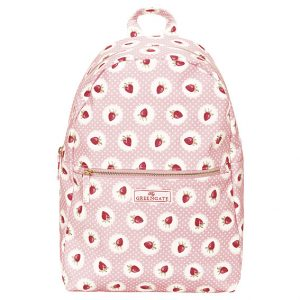 GreenGate Backpack – Rygsæk – Starwberry Pale Pink