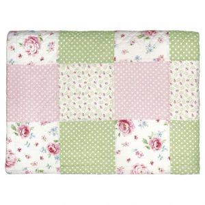 GreenGate Bed Cover/Quilt - Tæppe - Meryl Mega white 100 x 140 cm.