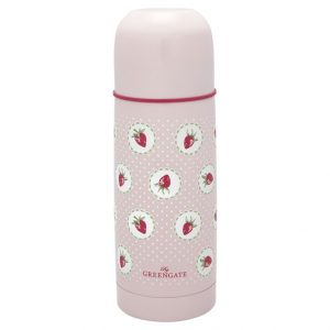 GreenGate Bottle – Termoflaske – Strawberry Pale Pink