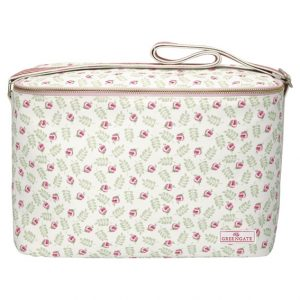 GreenGate Cooler Bag – Kølertaske – Lily Petit White