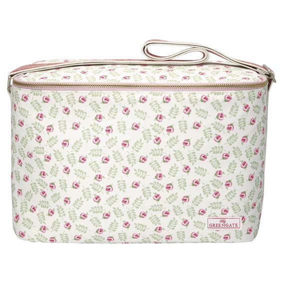 GreenGate Cooler Bag – Kølertaske – Lily Petit White