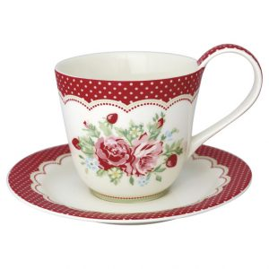 GreenGate Cup & Saucer – Kop m/underkop – Mary White