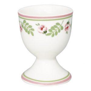 GreenGate Egg Cup - Æggebæger - Lily Petit White