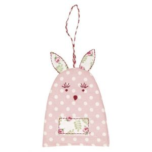 GreenGate Egg Warmer Rabbit – Kanin Æggevarmer – Spot Pale Pink