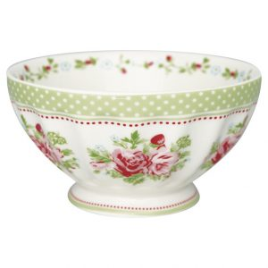 GreenGate French Bowl XLarge – Skål – Mary White