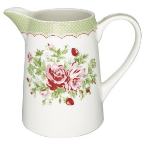 GreenGate Jug – Kande – Mary White 1 Ltr.