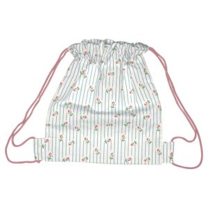GreenGate Kids Bag - Snøretaske - Lily Petit White