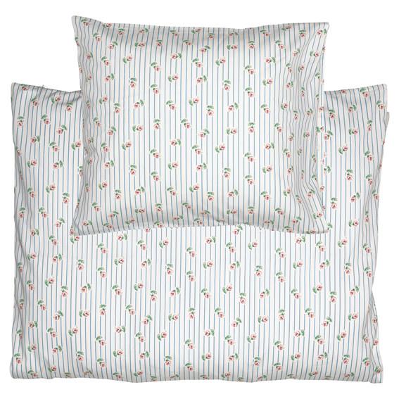 GreenGate Kids Bed Linen Set - Junior Sengesæt - Lily Petit White 100 x 140 cm.