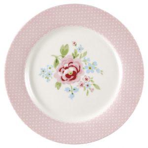 GreenGate Kids Plate - Tallerken - Meryl Pale Pink
