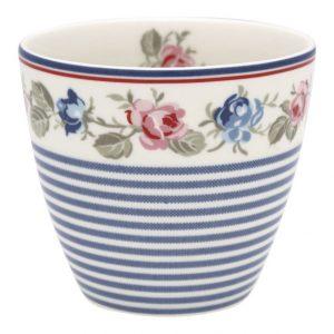 GreenGate Latte Cup – Hailey Stripe White