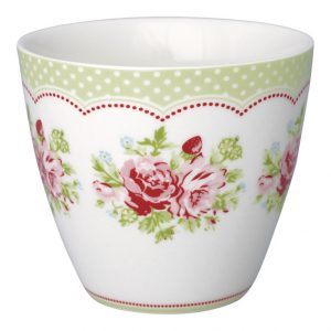 GreenGate Latte Cup Mary White