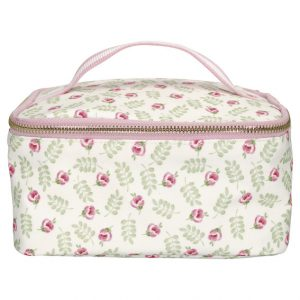 GreenGate Lunchag – Kølertaske – Lily Petit White