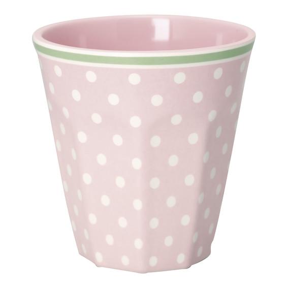 GreenGate Mug – Melamin Krus - Spot Pale Pink