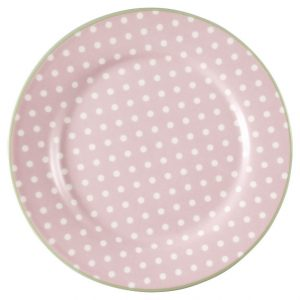 GreenGate Plate - Frokosttallerken - Spot Pale Pink