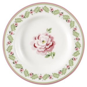 GreenGate Small Plate - Tallerken - Lily Petit White