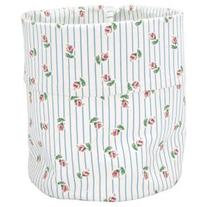 GreenGate Storage Bag - Lily Petit White Medium