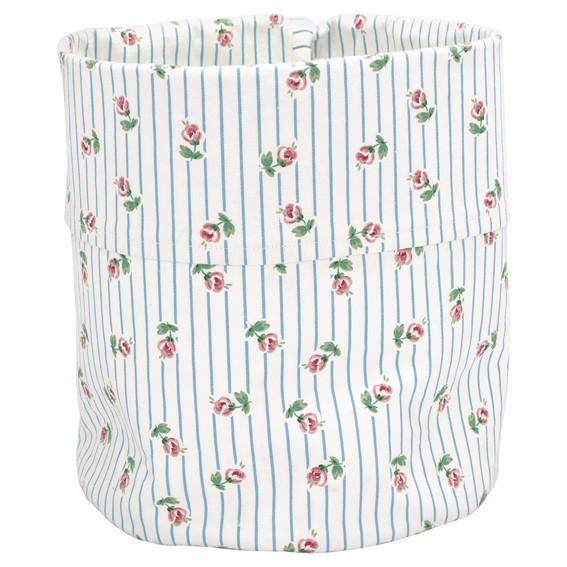 GreenGate Storage Bag - Lily Petit White Medium
