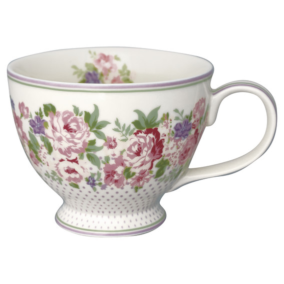 GreenGate Tea Cup – Tekop – Rose White