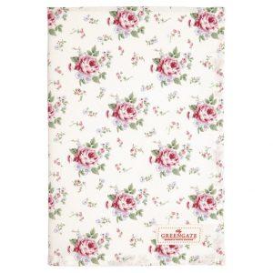 GreenGate Tea Towel - Viskestykke - Marley Petit White