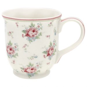 GreenGate Tea mug – Krus – Marley White