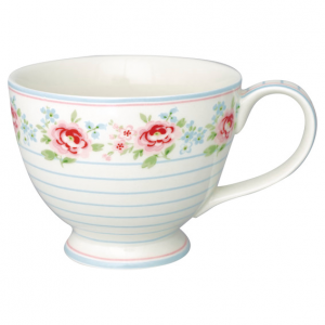 GreenGate Teacup - Tekop - Meryl Mega White