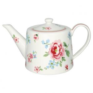 GreenGate Teapot – Tekande – Meryl Mega White