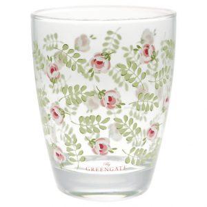 GreenGate Water Glass – Vandglas - Lily Petit White