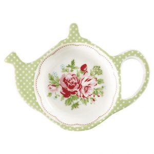 Greengate Teabag holder – Tebrevsholder – Mary White
