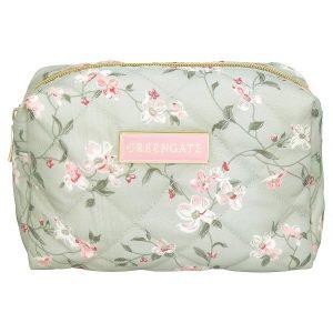 GreenGate Wash bag - Toilettaske - Jolie pale mint small
