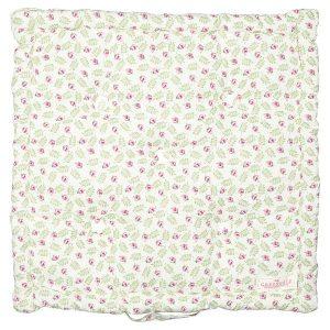GreenGate Box cushion - Hynde - Lily petit white