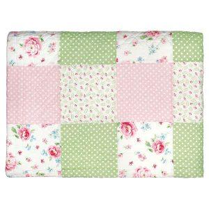 GreenGate Bed Cover/Quilt – Tæppe – Meryl mega white 180x240 cmover/Quilt – Tæppe – Meryl mega white 180x240 cm