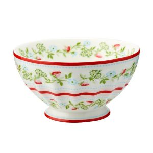 GreenGate French bowl xlarge Gloria white