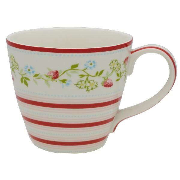 GreenGate Mug - Krus - Gloria white