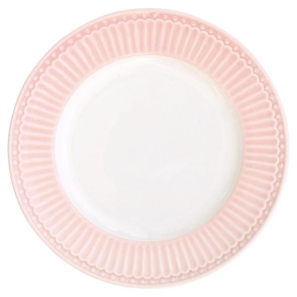 GreenGate Plate small Alice pale pink