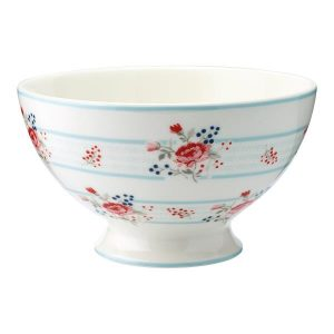 GreenGate – Soup bowl – Suppeskål – Fiona Pale Blue