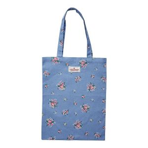 GreenGate Bag Cotton – Bomulds Indkøbsnet – Nicoline Dusty Blue