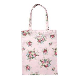 GreenGate Bag Cotton – Bomulds Indkøbstaske – Aurelia Pale Pink