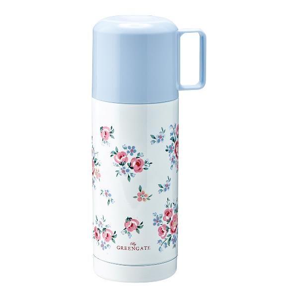 GreenGate Bottle – Termokande – Nicoline White 350ml