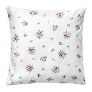 GreenGate Cushion – Pudebetræk – Nicoline White 50 x 50 cm