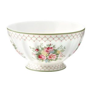 GreenGate French Bowl XLarge – Skål – Aurelia White