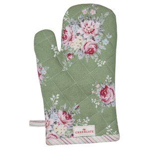 GreenGate Grill Glove – Grillhandske – Aurelia Green