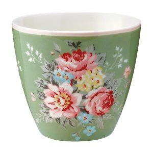 GreenGate Latte Cup – Aurelia Green