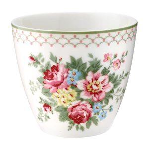 GreenGate Latte Cup – Aurelia White