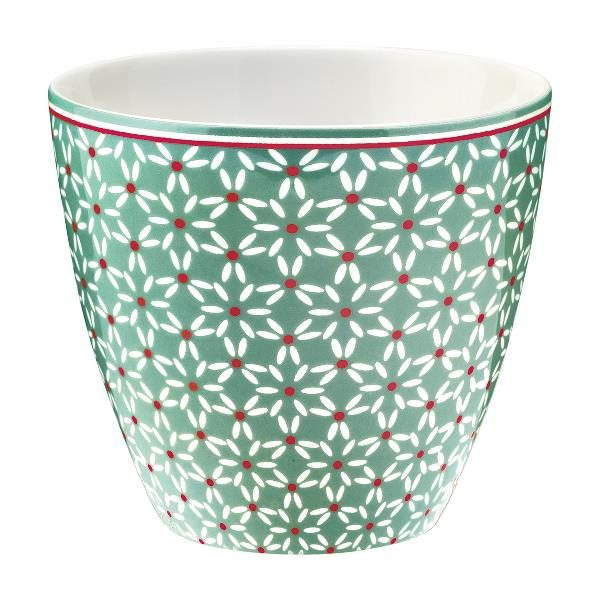 GreenGate Latte Cup – Juno Green