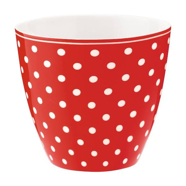 GreenGate Latte Cup – Spot Red