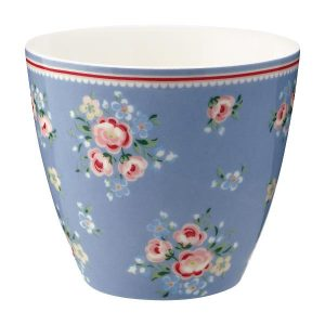GreenGate Latte Cup Nicoline Dusty Blue