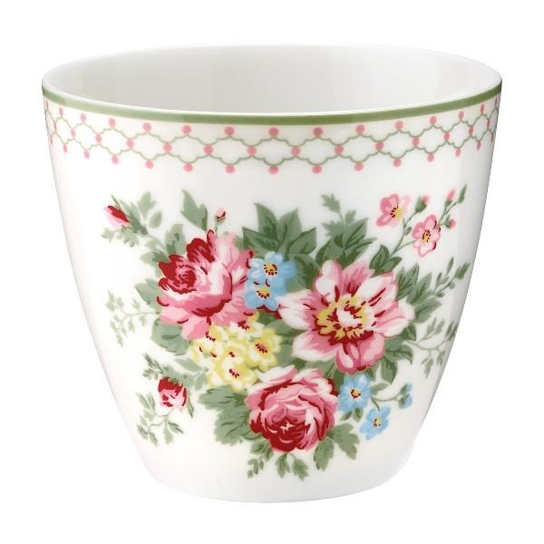 GreenGate Latte Cup – Aurelia White