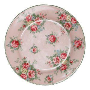 GreenGate Lunch Plate – Frokosttallerken – Aurelia Pale Pink