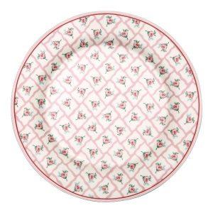 GreenGate Lunch Plate – Frokosttallerken – Rita Pale Pink
