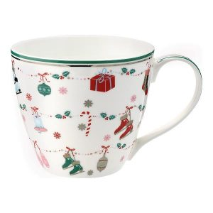 GreenGate Mug – Krus – Jingle Bell White